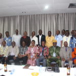 The 1st Quarter 2019 Executive Committee meeting of the Federation of African Engineering Organisation, FAEO in Volta Hotel, Akomsombo, Ghana.	The 1st Quarter 2019 Executive Committee meeting of the Federation of African Engineering Organisation, FAEO in Volta Hotel, Akomsombo, Ghana
